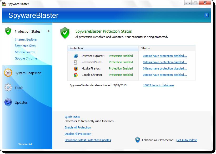 Resultado de imagen de spyware blaster